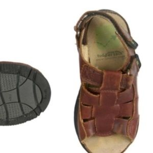 STRIDE RITE Brown Leather Fisherman Sandals 9W